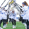 Hamilton College defender TT Fletcher (10)<br /> <br /> 3/10/18 11:59:40 AM Women's Lacrosse:  Colby College v Hamilton College at Withiam Field, Hamilton College, Clinton, NY<br /> <br /> Final: Colby  9   Hamilton 11<br /> <br /> Photo by Josh McKee
