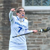 Hamilton College midfielder Jackie Cuddy (7)<br /> <br /> 4/14/18 12:26:15 PM Women's Lacrosse: Connecticut College vs Hamilton College, at Steuben Field, Hamilton College, Clinton, NY <br /> <br /> Final:  Connecticut 8    Hamilton 13<br /> <br /> Photo by Josh McKee