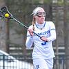 Hamilton College attacker Honor Gabriel (3)<br /> <br /> 4/14/18 1:23:04 PM Women's Lacrosse: Connecticut College vs Hamilton College, at Steuben Field, Hamilton College, Clinton, NY <br /> <br /> Final:  Connecticut 8    Hamilton 13<br /> <br /> Photo by Josh McKee