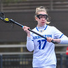 Hamilton College attacker Haley Hassell (17)<br /> <br /> 4/14/18 1:33:52 PM Women's Lacrosse: Connecticut College vs Hamilton College, at Steuben Field, Hamilton College, Clinton, NY <br /> <br /> Final:  Connecticut 8    Hamilton 13<br /> <br /> Photo by Josh McKee