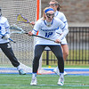 Hamilton College midfielder Hannah Lease (12)<br /> <br /> 4/14/18 1:43:45 PM Women's Lacrosse: Connecticut College vs Hamilton College, at Steuben Field, Hamilton College, Clinton, NY <br /> <br /> Final:  Connecticut 8    Hamilton 13<br /> <br /> Photo by Josh McKee