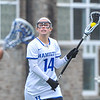 Hamilton College attacker Tatiana Bradley (14)<br /> <br /> 4/14/18 1:33:43 PM Women's Lacrosse: Connecticut College vs Hamilton College, at Steuben Field, Hamilton College, Clinton, NY <br /> <br /> Final:  Connecticut 8    Hamilton 13<br /> <br /> Photo by Josh McKee