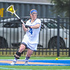Hamilton College attacker Nicole Lyons (4)<br /> <br /> 4/14/18 1:46:10 PM Women's Lacrosse: Connecticut College vs Hamilton College, at Steuben Field, Hamilton College, Clinton, NY <br /> <br /> Final:  Connecticut 8    Hamilton 13<br /> <br /> Photo by Josh McKee