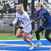 Hamilton College midfielder Kara Pooley (5)<br /> <br /> 4/14/18 1:38:43 PM Women's Lacrosse: Connecticut College vs Hamilton College, at Steuben Field, Hamilton College, Clinton, NY <br /> <br /> Final:  Connecticut 8    Hamilton 13<br /> <br /> Photo by Josh McKee