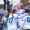Celebration<br /> <br /> 4/14/18 1:58:36 PM Women's Lacrosse: Connecticut College vs Hamilton College, at Steuben Field, Hamilton College, Clinton, NY <br /> <br /> Final:  Connecticut 8    Hamilton 13<br /> <br /> Photo by Josh McKee