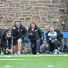 Celebration, Team<br /> <br /> 4/14/18 12:19:54 PM Women's Lacrosse: Connecticut College vs Hamilton College, at Steuben Field, Hamilton College, Clinton, NY <br /> <br /> Final:  Connecticut 8    Hamilton 13<br /> <br /> Photo by Josh McKee
