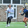 Hamilton College midfielder Jackie Cuddy (7)<br /> <br /> 4/14/18 12:28:45 PM Women's Lacrosse: Connecticut College vs Hamilton College, at Steuben Field, Hamilton College, Clinton, NY <br /> <br /> Final:  Connecticut 8    Hamilton 13<br /> <br /> Photo by Josh McKee