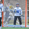 Hamilton College GK Eleni Neyland (2)<br /> <br /> 4/14/18 1:43:44 PM Women's Lacrosse: Connecticut College vs Hamilton College, at Steuben Field, Hamilton College, Clinton, NY <br /> <br /> Final:  Connecticut 8    Hamilton 13<br /> <br /> Photo by Josh McKee