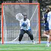 Hamilton College GK Hannah Burrall (1)<br /> <br /> 4/14/18 12:15:12 PM Women's Lacrosse: Connecticut College vs Hamilton College, at Steuben Field, Hamilton College, Clinton, NY <br /> <br /> Final:  Connecticut 8    Hamilton 13<br /> <br /> Photo by Josh McKee