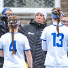 Hamilton College head coach Patty Kloidt, Team<br /> <br /> 4/14/18 1:50:00 PM Women's Lacrosse: Connecticut College vs Hamilton College, at Steuben Field, Hamilton College, Clinton, NY <br /> <br /> Final:  Connecticut 8    Hamilton 13<br /> <br /> Photo by Josh McKee