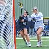 Hamilton College midfielder Kara Pooley (5)<br /> <br /> 4/14/18 1:23:27 PM Women's Lacrosse: Connecticut College vs Hamilton College, at Steuben Field, Hamilton College, Clinton, NY <br /> <br /> Final:  Connecticut 8    Hamilton 13<br /> <br /> Photo by Josh McKee