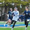 Hamilton College midfielder Darby Philbrick (13)<br /> <br /> 4/14/18 12:07:48 PM Women's Lacrosse: Connecticut College vs Hamilton College, at Steuben Field, Hamilton College, Clinton, NY <br /> <br /> Final:  Connecticut 8    Hamilton 13<br /> <br /> Photo by Josh McKee
