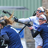 Hamilton College midfielder Tessa Ryan (16),  GOAL<br /> <br /> 4/14/18 1:53:54 PM Women's Lacrosse: Connecticut College vs Hamilton College, at Steuben Field, Hamilton College, Clinton, NY <br /> <br /> Final:  Connecticut 8    Hamilton 13<br /> <br /> Photo by Josh McKee