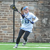 Hamilton College midfielder Darby Philbrick (13)<br /> <br /> 4/14/18 12:32:19 PM Women's Lacrosse: Connecticut College vs Hamilton College, at Steuben Field, Hamilton College, Clinton, NY <br /> <br /> Final:  Connecticut 8    Hamilton 13<br /> <br /> Photo by Josh McKee