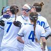 Celebration<br /> <br /> 4/14/18 1:24:04 PM Women's Lacrosse: Connecticut College vs Hamilton College, at Steuben Field, Hamilton College, Clinton, NY <br /> <br /> Final:  Connecticut 8    Hamilton 13<br /> <br /> Photo by Josh McKee