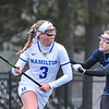 Hamilton College attacker Honor Gabriel (3)<br /> <br /> 4/14/18 1:37:06 PM Women's Lacrosse: Connecticut College vs Hamilton College, at Steuben Field, Hamilton College, Clinton, NY <br /> <br /> Final:  Connecticut 8    Hamilton 13<br /> <br /> Photo by Josh McKee