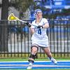 Hamilton College attacker Nicole Lyons (4)<br /> <br /> 4/14/18 1:56:20 PM Women's Lacrosse: Connecticut College vs Hamilton College, at Steuben Field, Hamilton College, Clinton, NY <br /> <br /> Final:  Connecticut 8    Hamilton 13<br /> <br /> Photo by Josh McKee