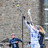 Hamilton College midfielder Kara Pooley (5)<br /> <br /> 4/14/18 1:36:50 PM Women's Lacrosse: Connecticut College vs Hamilton College, at Steuben Field, Hamilton College, Clinton, NY <br /> <br /> Final:  Connecticut 8    Hamilton 13<br /> <br /> Photo by Josh McKee