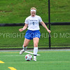 Hamilton College defender Cassie Hayward (5)<br /> <br /> 9/9/17 11:12:39 AM Women's Soccer: Bates College v Hamilton College, at Withiam Field, Hamilton College, Clinton, NY<br /> <br /> Final:  Bates 1  Hamilton 0<br /> <br /> Photo by Josh McKee