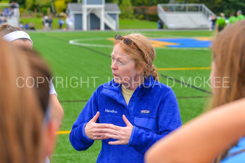 Coach<br /> <br /> 9/9/17 10:57:30 AM Women's Soccer: Bates College v Hamilton College, at Withiam Field, Hamilton College, Clinton, NY<br /> <br /> Final:  Bates 1  Hamilton 0<br /> <br /> Photo by Josh McKee