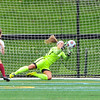 Hamilton College goalkeeper Emily Dumont (1)<br /> <br /> 9/9/17 11:07:01 AM Women's Soccer: Bates College v Hamilton College, at Withiam Field, Hamilton College, Clinton, NY<br /> <br /> Final:  Bates 1  Hamilton 0<br /> <br /> Photo by Josh McKee