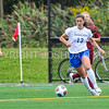 Hamilton College defender Katie McKillop (13)<br /> <br /> 9/9/17 11:08:08 AM Women's Soccer: Bates College v Hamilton College, at Withiam Field, Hamilton College, Clinton, NY<br /> <br /> Final:  Bates 1  Hamilton 0<br /> <br /> Photo by Josh McKee