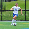 Hamilton College defender Katie McKillop (13)<br /> <br /> 9/9/17 11:04:42 AM Women's Soccer: Bates College v Hamilton College, at Withiam Field, Hamilton College, Clinton, NY<br /> <br /> Final:  Bates 1  Hamilton 0<br /> <br /> Photo by Josh McKee