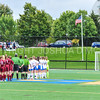 Team, Anthem<br /> <br /> 9/9/17 11:01:45 AM Women's Soccer: Bates College v Hamilton College, at Withiam Field, Hamilton College, Clinton, NY<br /> <br /> Final:  Bates 1  Hamilton 0<br /> <br /> Photo by Josh McKee