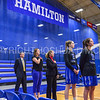 Team, Coaches<br /> <br /> 1/7/18 1:58:31 PM Hamilton College Women's Basketball v Trinity College at Margaret Bundy Scott Field House, Hamilton College, Clinton, NY<br /> <br /> Final:  Trinity 66  Hamilton 68<br /> <br /> Photo by Josh McKee