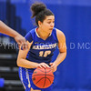 Hamilton College guard Kendall Rallins (10)<br /> <br /> 1/7/18 2:04:35 PM Hamilton College Women's Basketball v Trinity College at Margaret Bundy Scott Field House, Hamilton College, Clinton, NY<br /> <br /> Final:  Trinity 66  Hamilton 68<br /> <br /> Photo by Josh McKee