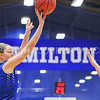 Hamilton College G/F Halie Serbent (32)<br /> <br /> 1/7/18 2:03:23 PM Hamilton College Women's Basketball v Trinity College at Margaret Bundy Scott Field House, Hamilton College, Clinton, NY<br /> <br /> Final:  Trinity 66  Hamilton 68<br /> <br /> Photo by Josh McKee