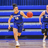 Hamilton College guard Kendall Rallins (10)<br /> <br /> 1/7/18 2:03:18 PM Hamilton College Women's Basketball v Trinity College at Margaret Bundy Scott Field House, Hamilton College, Clinton, NY<br /> <br /> Final:  Trinity 66  Hamilton 68<br /> <br /> Photo by Josh McKee