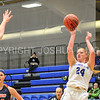 Hamilton College forward Lauren Getman (24)<br /> <br /> 11/27/17 8:10:00 PM Women's Basketball: Utica College v Hamilton College at Margaret Bundy Scott Field House, Hamilton College, Clinton, NY<br /> <br /> Final:  Utica 40  Hamilton 52<br /> <br /> Photo by Josh McKee
