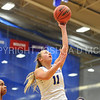 Hamilton College guard Carly O'Hern (11)<br /> <br /> 11/27/17 8:11:44 PM Women's Basketball: Utica College v Hamilton College at Margaret Bundy Scott Field House, Hamilton College, Clinton, NY<br /> <br /> Final:  Utica 40  Hamilton 52<br /> <br /> Photo by Josh McKee