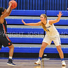 Hamilton College guard Carly O'Hern (11)<br /> <br /> 11/27/17 8:10:50 PM Women's Basketball: Utica College v Hamilton College at Margaret Bundy Scott Field House, Hamilton College, Clinton, NY<br /> <br /> Final:  Utica 40  Hamilton 52<br /> <br /> Photo by Josh McKee