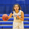 Hamilton College guard Kendall Rallins (10)<br /> <br /> 11/27/17 8:08:48 PM Women's Basketball: Utica College v Hamilton College at Margaret Bundy Scott Field House, Hamilton College, Clinton, NY<br /> <br /> Final:  Utica 40  Hamilton 52<br /> <br /> Photo by Josh McKee