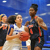 Hamilton College guard Kendall Rallins (10)<br /> <br /> 11/27/17 8:09:17 PM Women's Basketball: Utica College v Hamilton College at Margaret Bundy Scott Field House, Hamilton College, Clinton, NY<br /> <br /> Final:  Utica 40  Hamilton 52<br /> <br /> Photo by Josh McKee