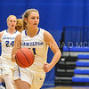 Hamilton College guard Carly O'Hern (11)<br /> <br /> 11/27/17 8:08:16 PM Women's Basketball: Utica College v Hamilton College at Margaret Bundy Scott Field House, Hamilton College, Clinton, NY<br /> <br /> Final:  Utica 40  Hamilton 52<br /> <br /> Photo by Josh McKee