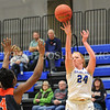 Hamilton College forward Lauren Getman (24)<br /> <br /> 11/27/17 8:11:10 PM Women's Basketball: Utica College v Hamilton College at Margaret Bundy Scott Field House, Hamilton College, Clinton, NY<br /> <br /> Final:  Utica 40  Hamilton 52<br /> <br /> Photo by Josh McKee