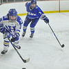 Hamilton College forward Kate Piacenza (18)<br /> <br /> 12/1/17 7:09:23 PM Women's Hockey:  Colby College v Hamilton College at Russell Sage Rink, Hamilton College, Clinton, NY<br /> <br /> Final: Colby 0  Hamilton 1 (OT)<br /> <br /> Photo by Josh McKee