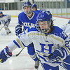 Hamilton College forward Emily Williams (27)<br /> <br /> 12/1/17 7:06:09 PM Women's Hockey:  Colby College v Hamilton College at Russell Sage Rink, Hamilton College, Clinton, NY<br /> <br /> Final: Colby 0  Hamilton 1 (OT)<br /> <br /> Photo by Josh McKee