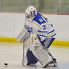 Hamilton College goaltender Sammy Johnson (35)<br /> <br /> 1/13/18 2:26:41 PM Women's Hockey:  Trinity College v Hamilton College at Russell Sage Rink, Hamilton College, Clinton, NY<br /> <br /> Final: Trinity 0   Hamilton 1 (OT)<br /> <br /> Photo by Josh McKee