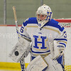 Hamilton College goaltender Sammy Johnson (35)<br /> <br /> 1/13/18 2:27:54 PM Women's Hockey:  Trinity College v Hamilton College at Russell Sage Rink, Hamilton College, Clinton, NY<br /> <br /> Final: Trinity 0   Hamilton 1 (OT)<br /> <br /> Photo by Josh McKee