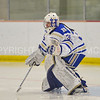 Hamilton College goaltender Sammy Johnson (35)<br /> <br /> 1/13/18 2:26:40 PM Women's Hockey:  Trinity College v Hamilton College at Russell Sage Rink, Hamilton College, Clinton, NY<br /> <br /> Final: Trinity 0   Hamilton 1 (OT)<br /> <br /> Photo by Josh McKee