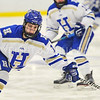 Hamilton College forward Jenna Jewell (19)<br /> <br /> 1/13/18 3:06:23 PM Women's Hockey:  Trinity College v Hamilton College at Russell Sage Rink, Hamilton College, Clinton, NY<br /> <br /> Final: Trinity 0   Hamilton 1 (OT)<br /> <br /> Photo by Josh McKee