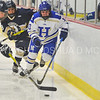 Hamilton College forward Olivia Hawes (10)<br /> <br /> 1/13/18 3:03:55 PM Women's Hockey:  Trinity College v Hamilton College at Russell Sage Rink, Hamilton College, Clinton, NY<br /> <br /> Final: Trinity 0   Hamilton 1 (OT)<br /> <br /> Photo by Josh McKee