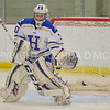 Hamilton College goaltender Sam Walther (30)<br /> <br /> 1/13/18 2:28:39 PM Women's Hockey:  Trinity College v Hamilton College at Russell Sage Rink, Hamilton College, Clinton, NY<br /> <br /> Final: Trinity 0   Hamilton 1 (OT)<br /> <br /> Photo by Josh McKee