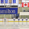 Team<br /> <br /> 1/13/18 2:57:03 PM Women's Hockey:  Trinity College v Hamilton College at Russell Sage Rink, Hamilton College, Clinton, NY<br /> <br /> Final: Trinity 0   Hamilton 1 (OT)<br /> <br /> Photo by Josh McKee