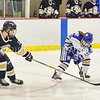 Hamilton College forward Kate Piacenza (18)<br /> <br /> 1/13/18 3:06:15 PM Women's Hockey:  Trinity College v Hamilton College at Russell Sage Rink, Hamilton College, Clinton, NY<br /> <br /> Final: Trinity 0   Hamilton 1 (OT)<br /> <br /> Photo by Josh McKee