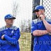 Hamilton College head coach Tim Byrnes, Hamilton College assistant coach Nolan Driscoll<br /> <br /> 4/12/19 3:15:58 PM Baseball: Amherst College v Hamilton College at Loop Road Baseball/Softball Complex, Hamilton College, Clinton, NY<br /> <br /> Final:  Amherst 10   Hamilton 18<br /> <br /> Photo by Josh McKee